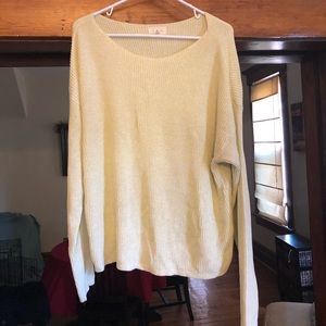 Loft oversized sweater. Only worn once!